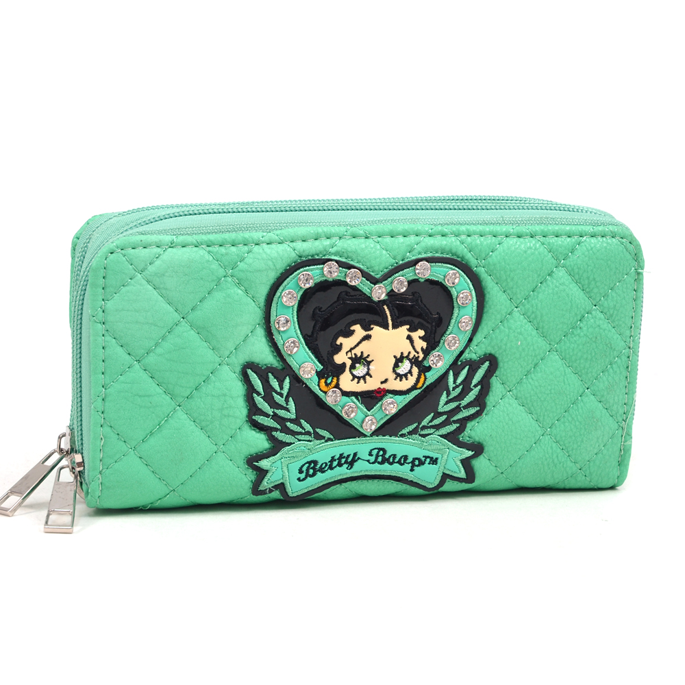 Betty Boop® Mae Questel Zip-Around Wallet