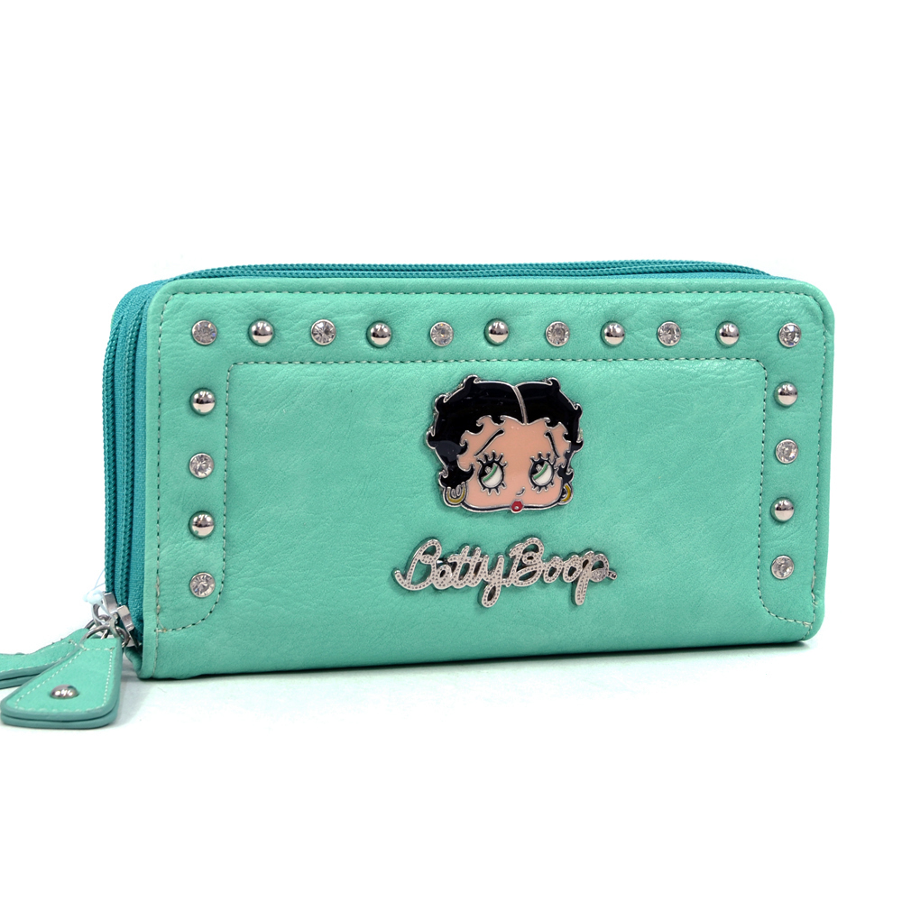 Betty Boop® Little Ann Little Zip-Around Wallet