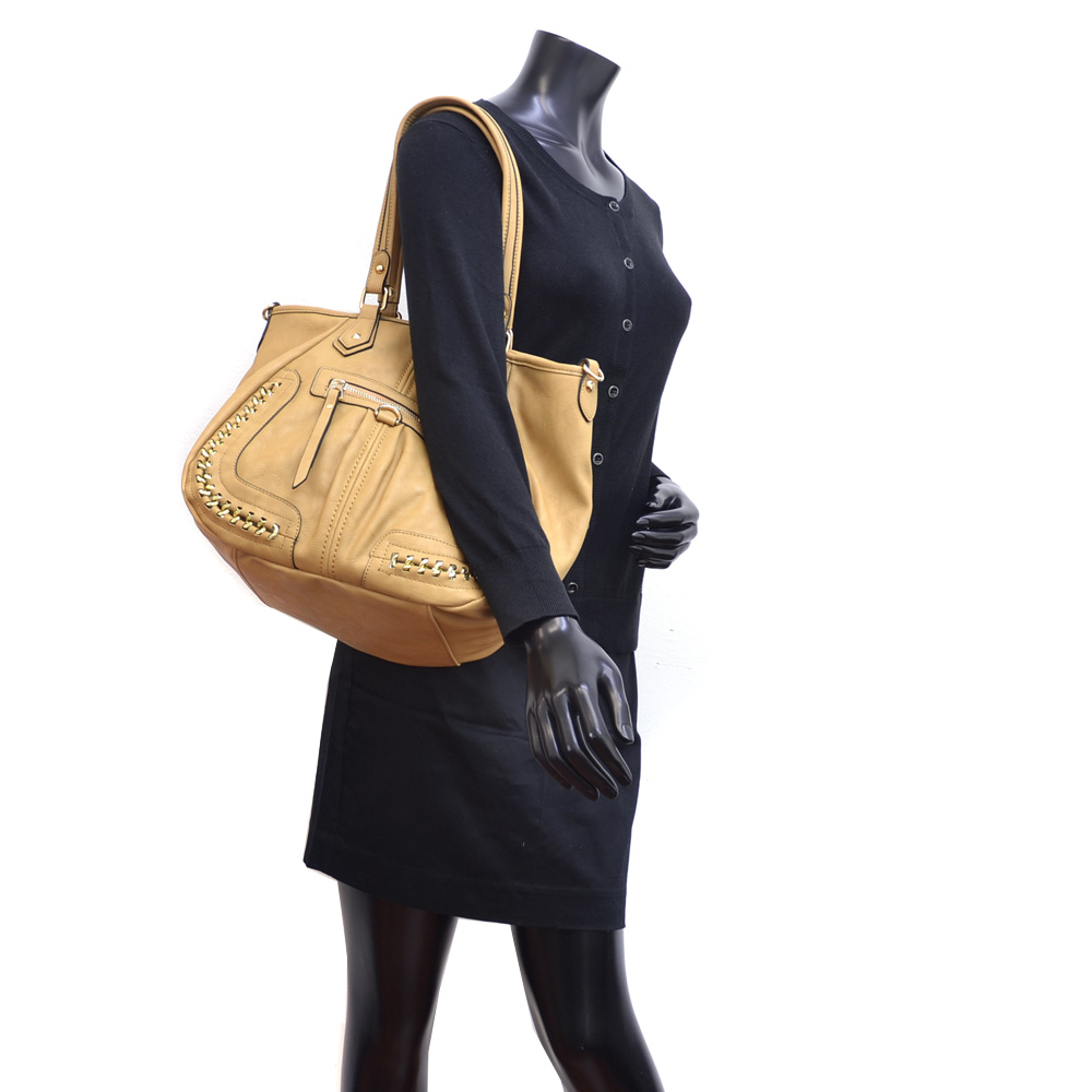 Dasein® Gold Infused Shoulder Bag