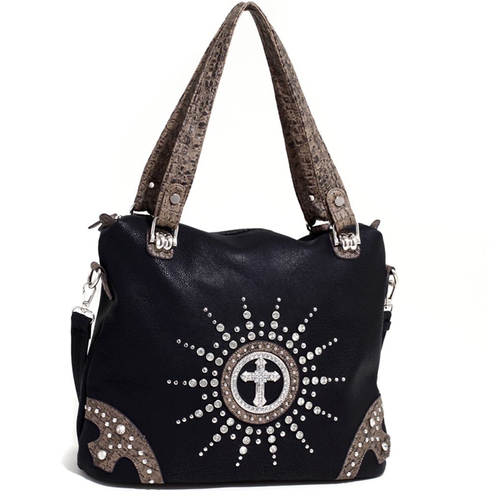 Cross of the Circuit Rider Tote