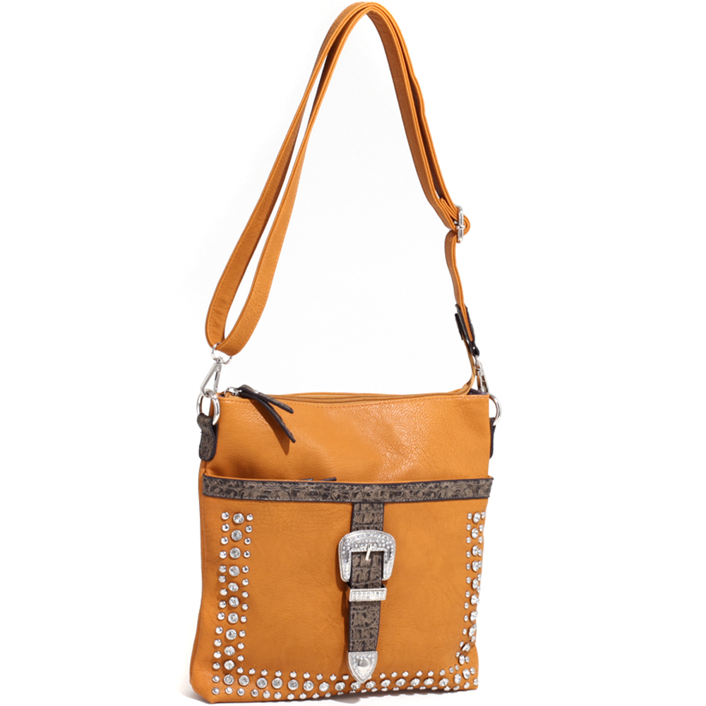 Buckeroo's Buckle Messenger Bag