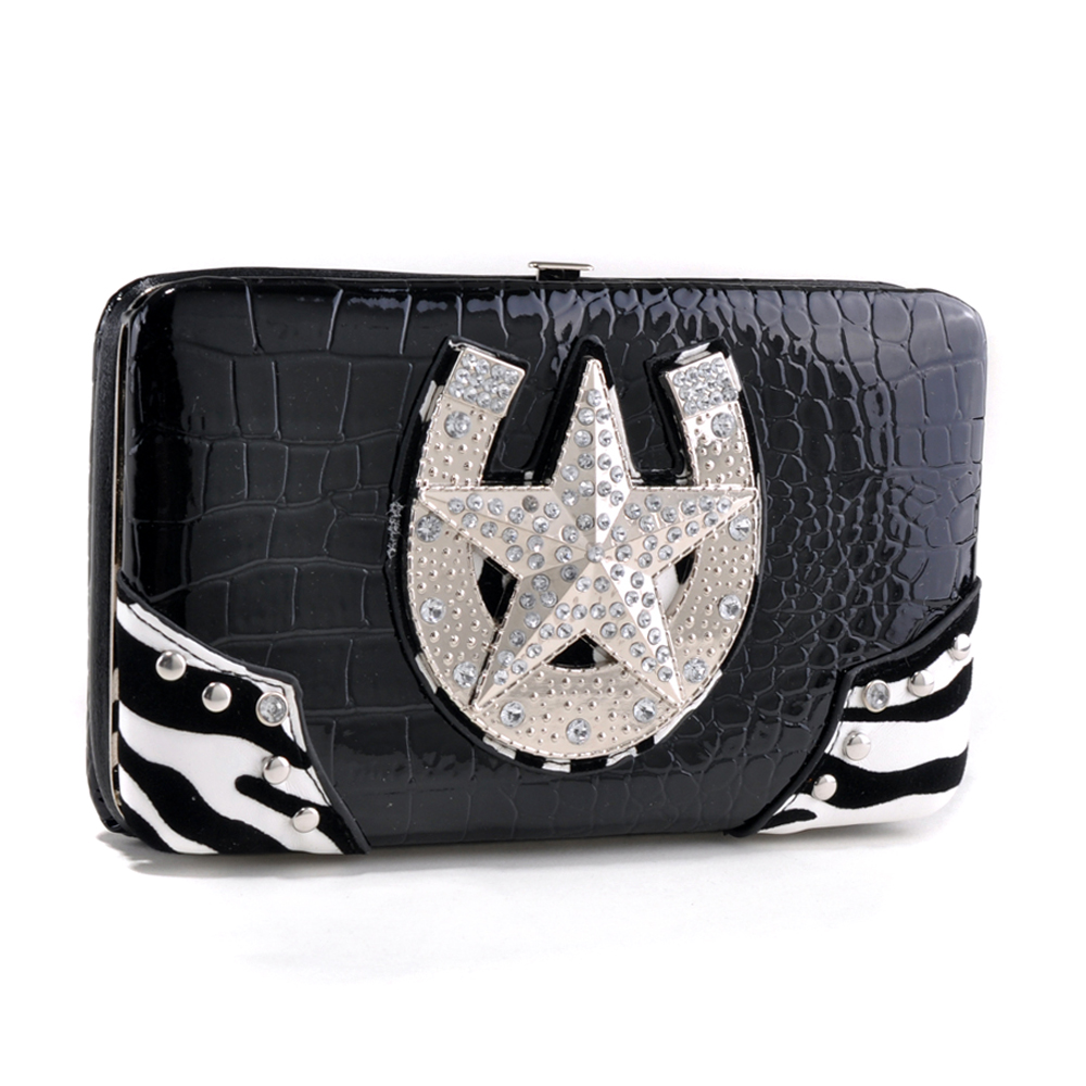 Alyssa® Belle Starr Horseshoe Wallet