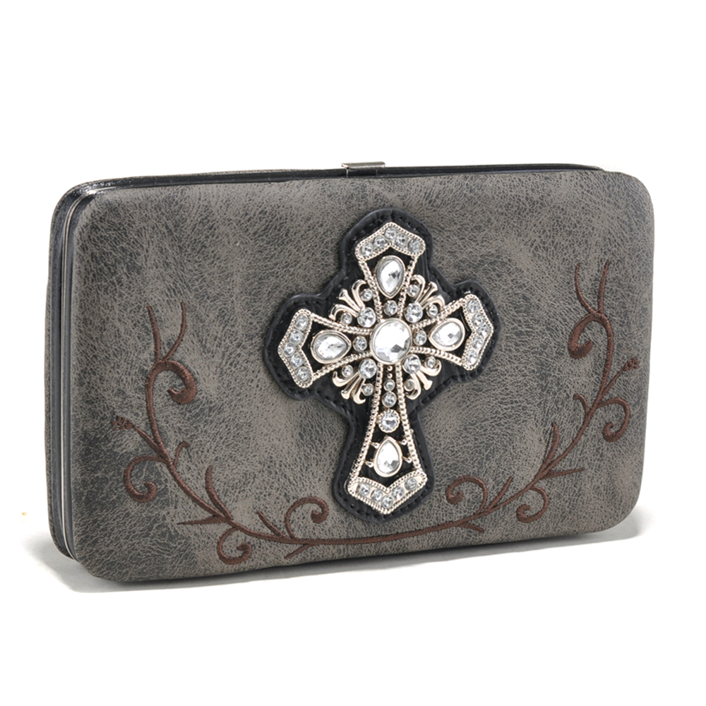 Alyssa® Cross of the Gospel Mill Wallet