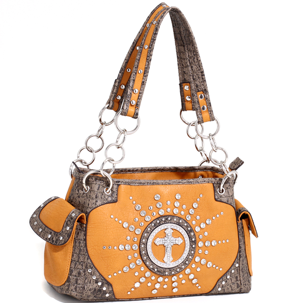 Cross of the Circuit Rider Shoulder Bag