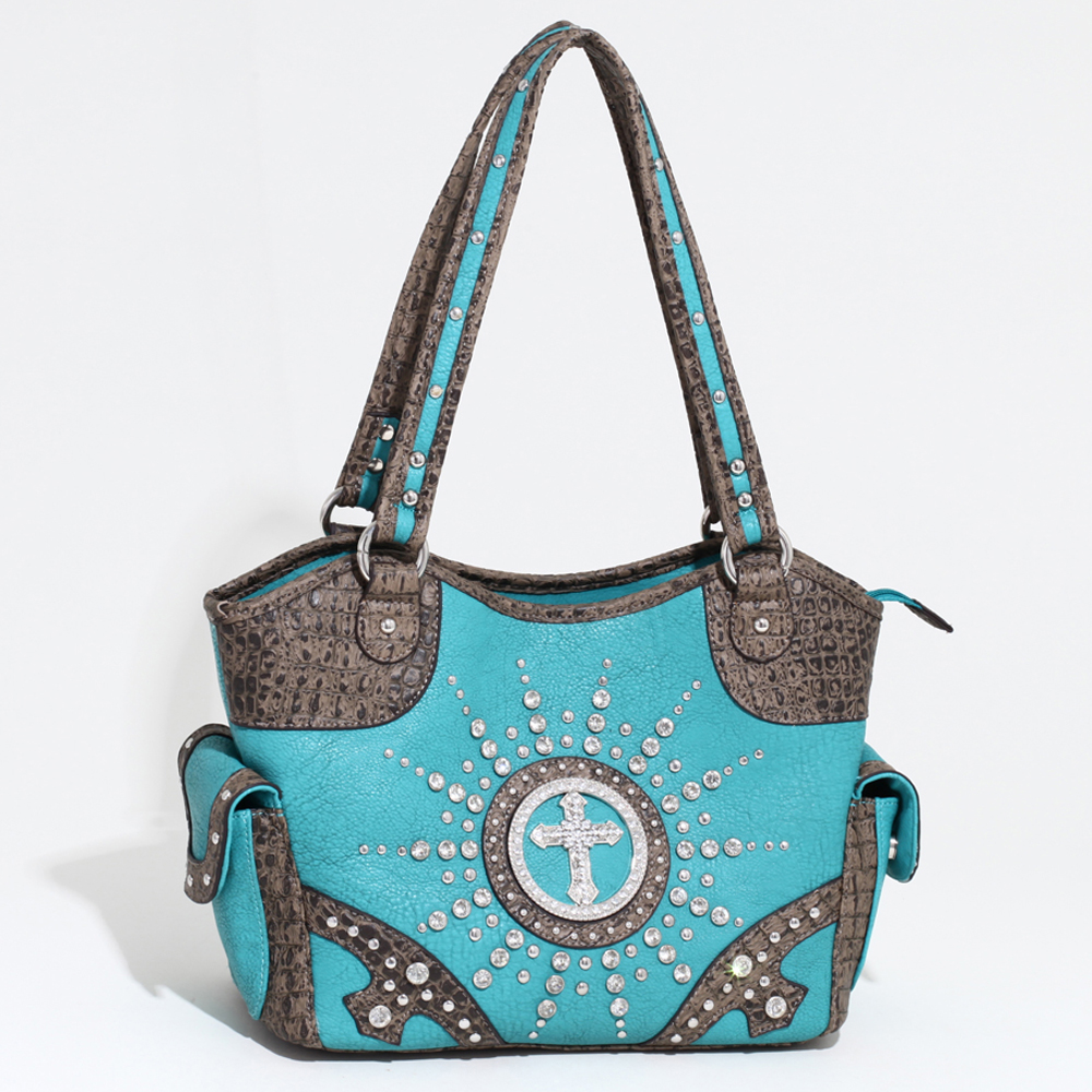 Cross of the Circuit Rider Wave Top Shoulder Bag