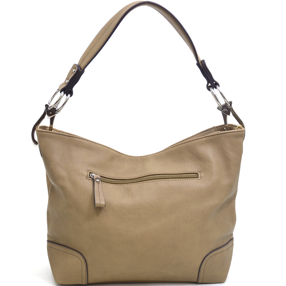 Women's Classic Fashion Hobo Bag with Detachable Shoulder Strap