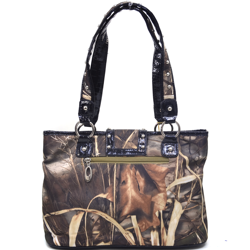 Realtree® Max-4 Camo Studded Bottom Tote