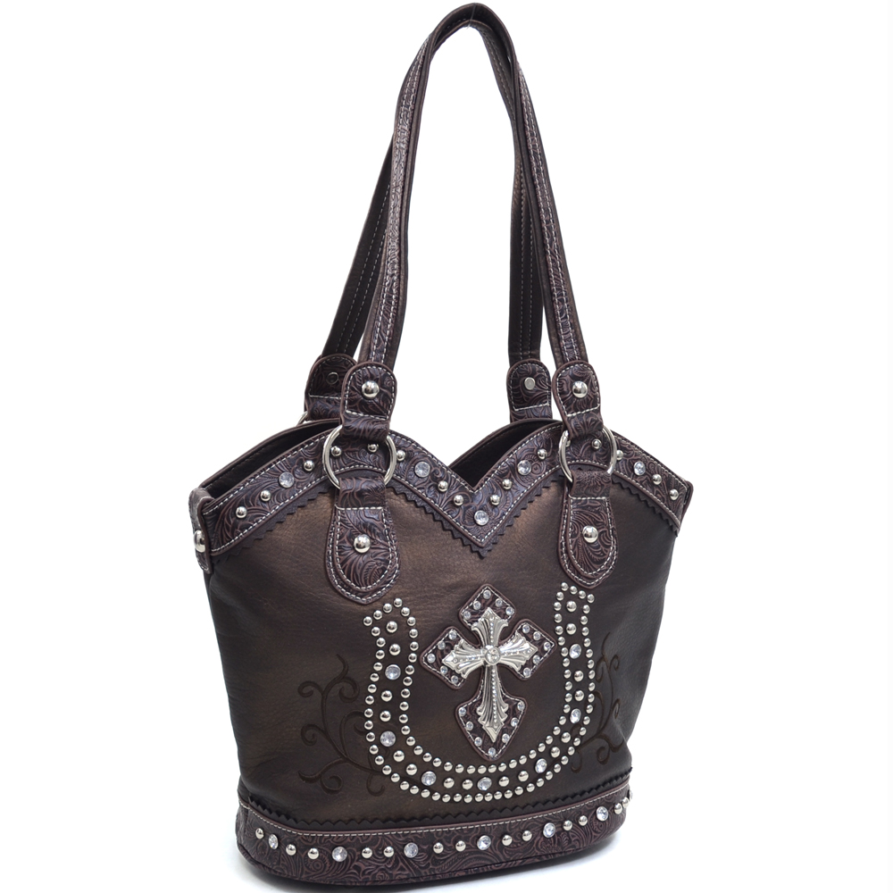 Heart of the Wild West Shoulder Bag