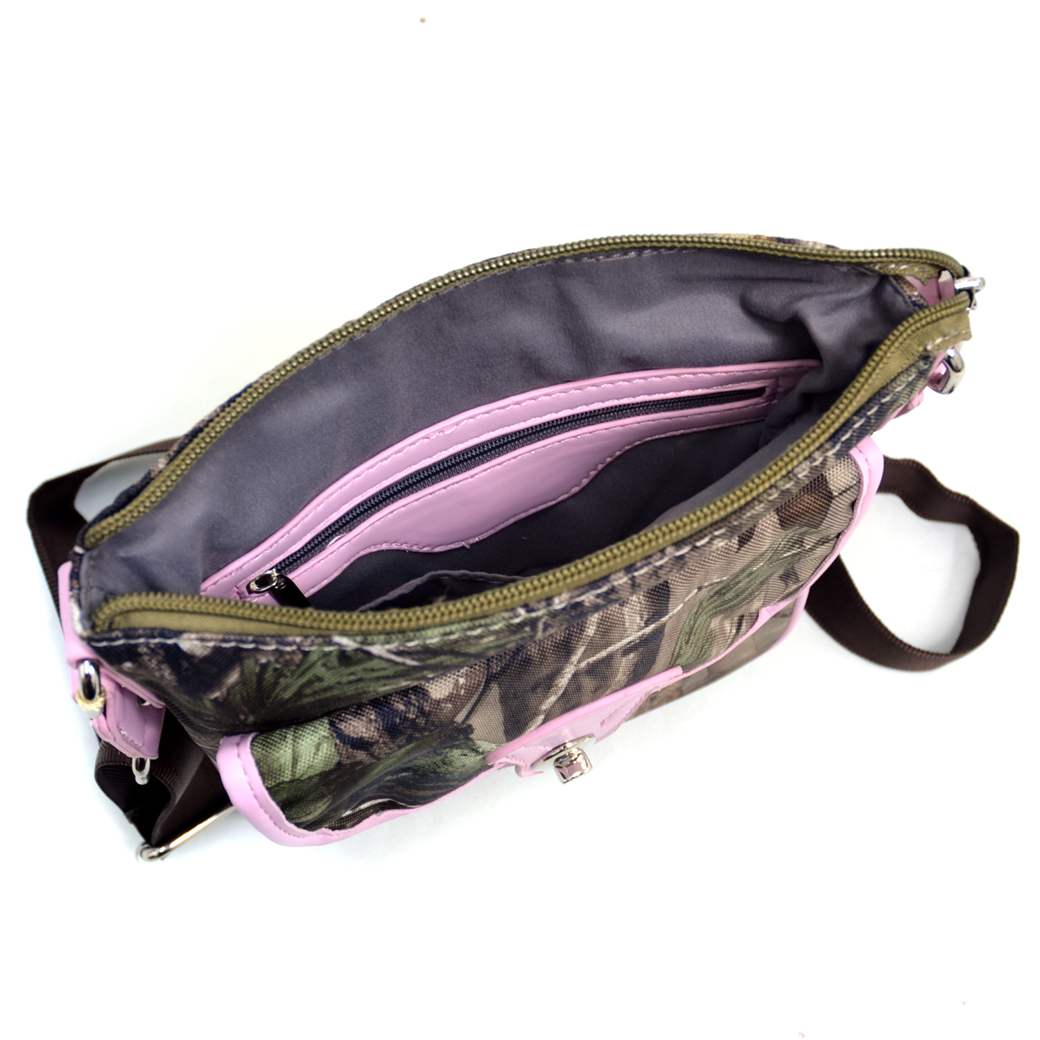 Realtree® APG Camo Pink Trim Crossbody