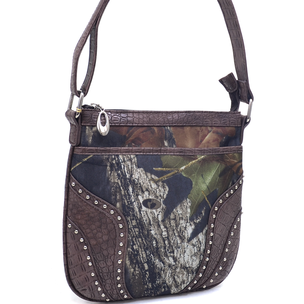 Mossy Oak® Infinity Camo Croco Trim Crossbody