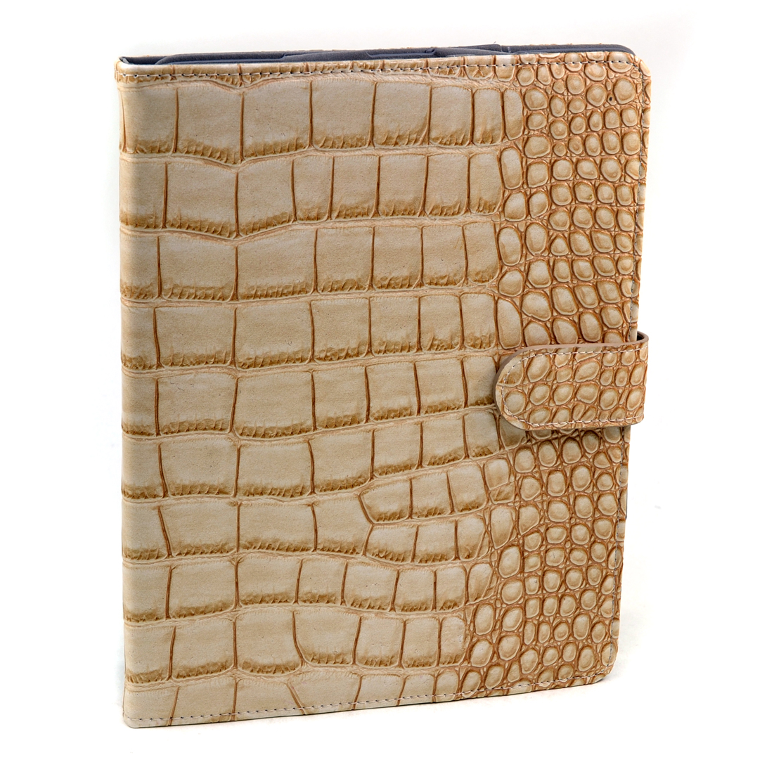 Dasein® Matte Faux Crocoskin Leather Case New Smart Stand Cover for iPad 2 3 4