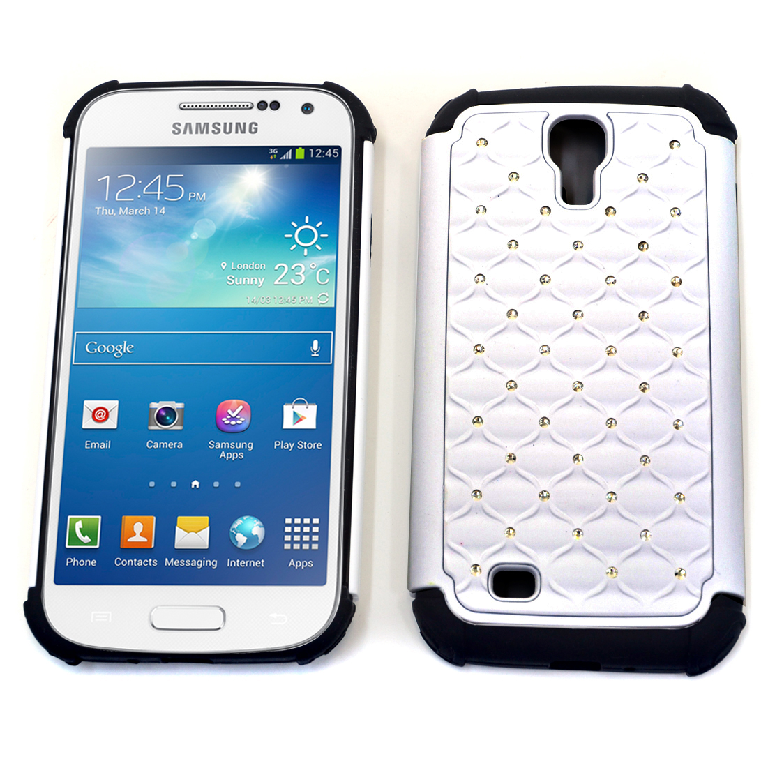 Dasein® Rhinestone Accent Case for Samsung Galaxy S4