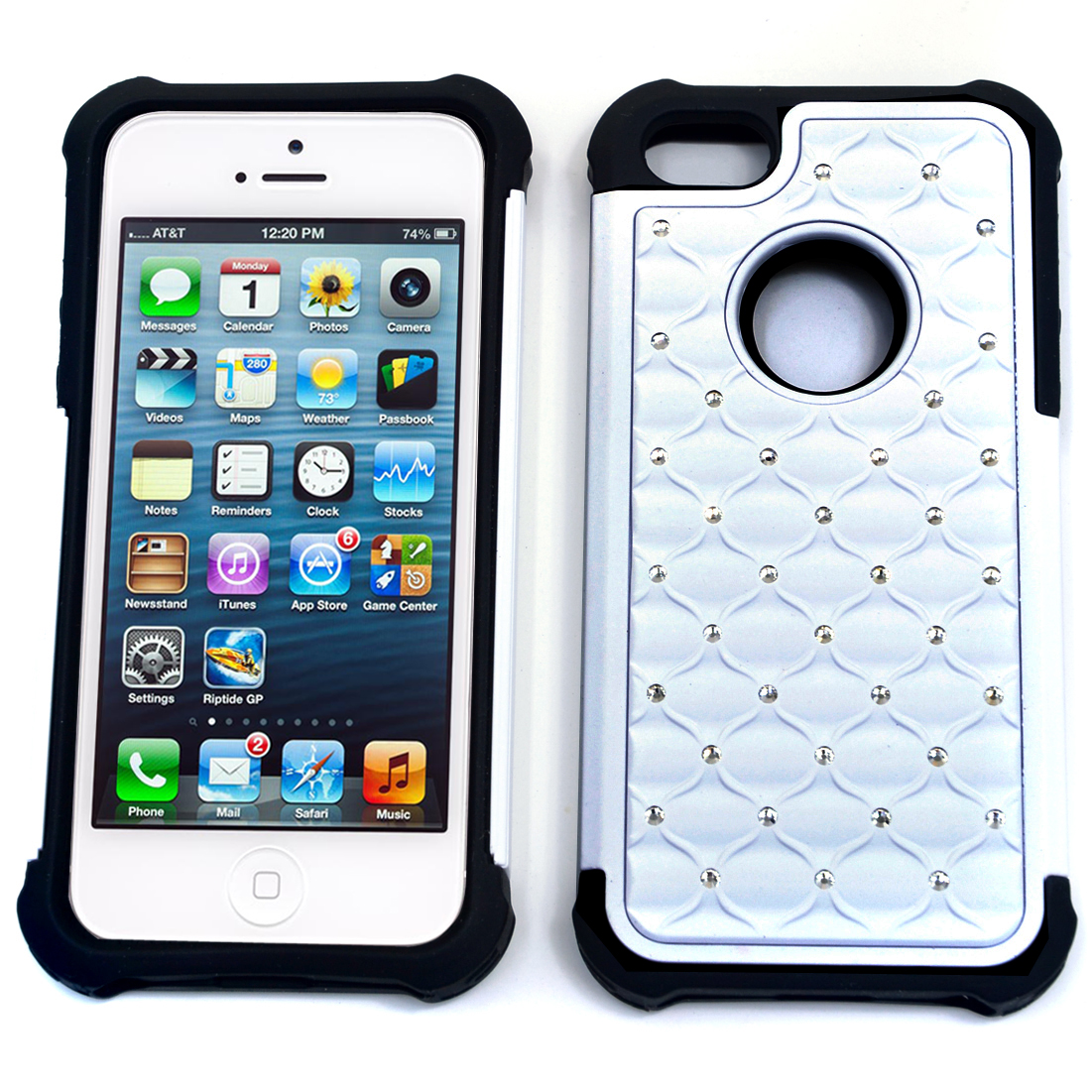 Dasein® Mini Rhinestone Accent Case for iPhone 5