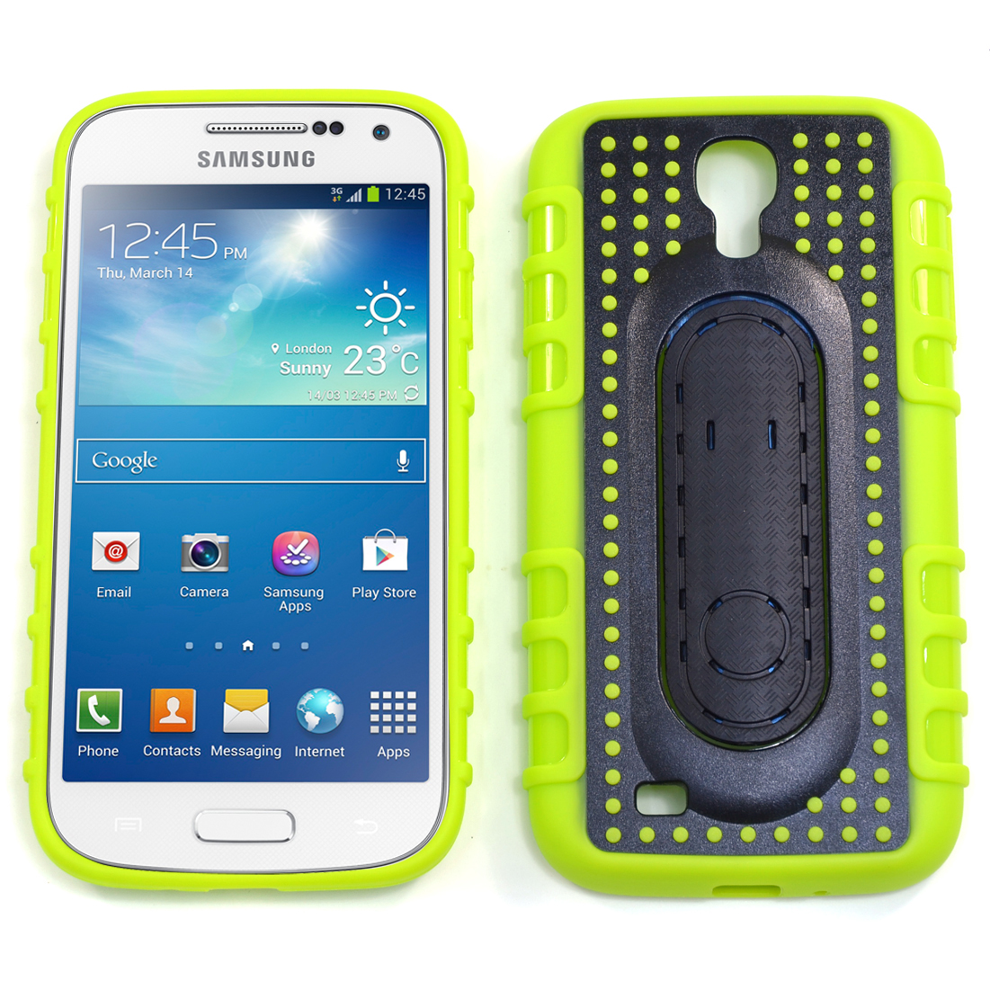 Dasein® Pop Spring Stand Cell Phone Case for Samsung Galaxy S4