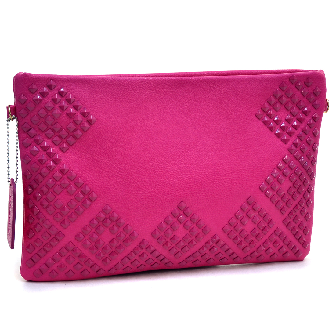 Dasein® Large Aztec Studded Clutch