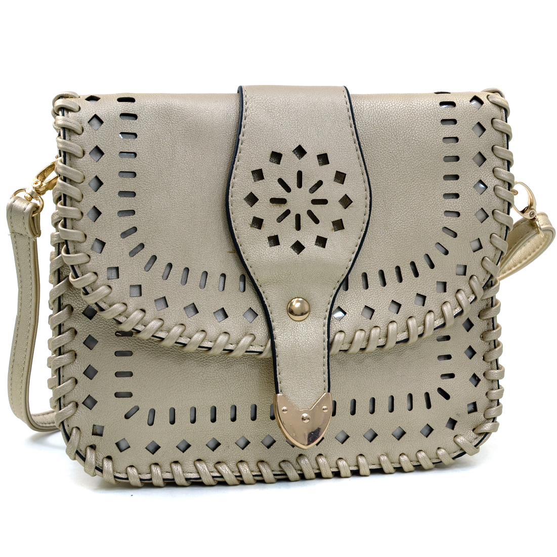 Dasein® Aztec Inspired Cutout  Bag