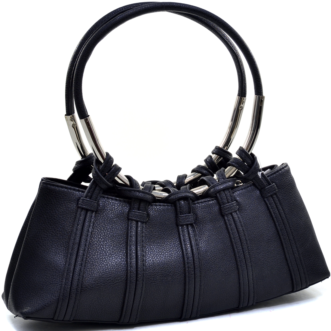 Dual Ring Strap Shoulder Bag
