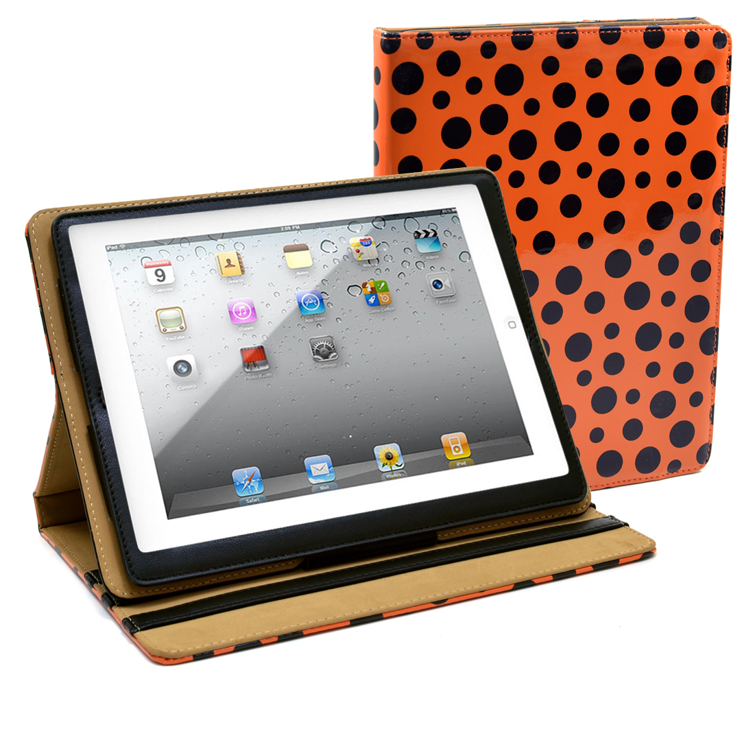 Dasein® Glossy Polka Dot iPad Air / iPad 2 Compatible Case