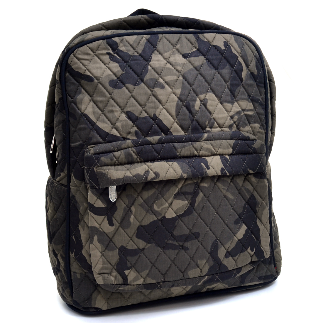 Rosen Blue Quilted Camo Backpack