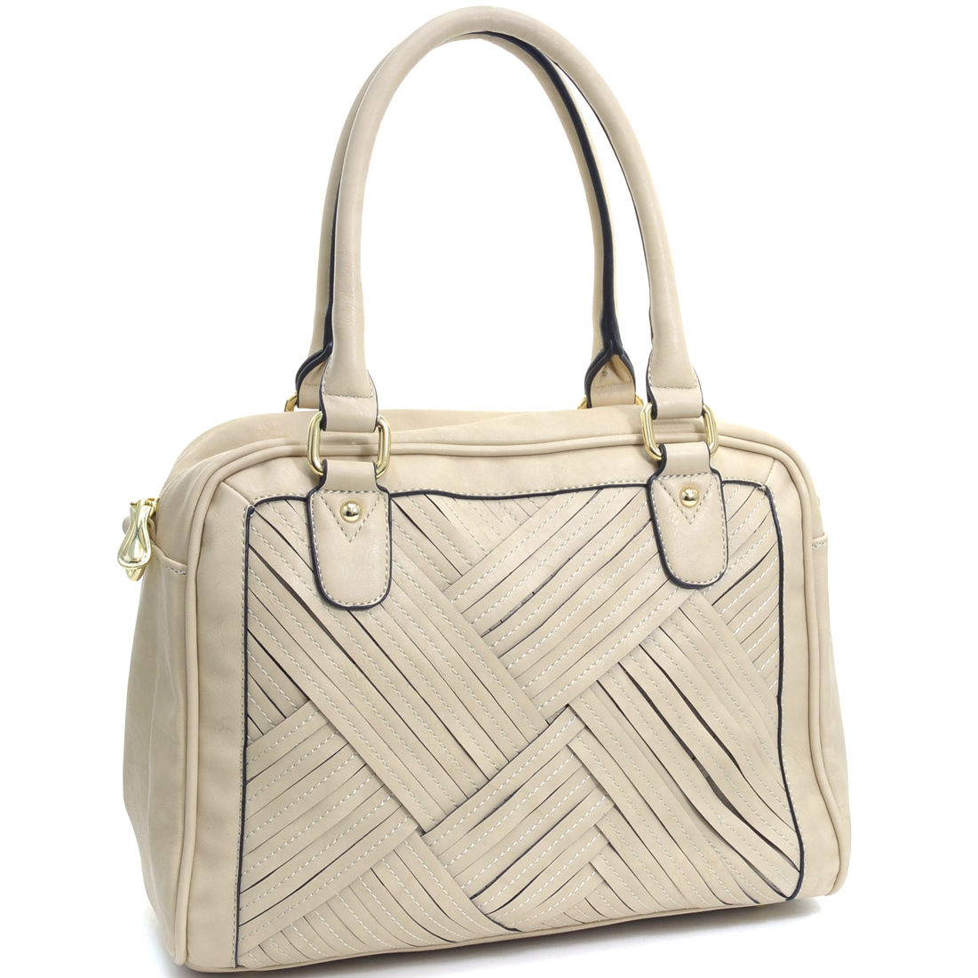 Cross Weave Fashion Shoulder Bag