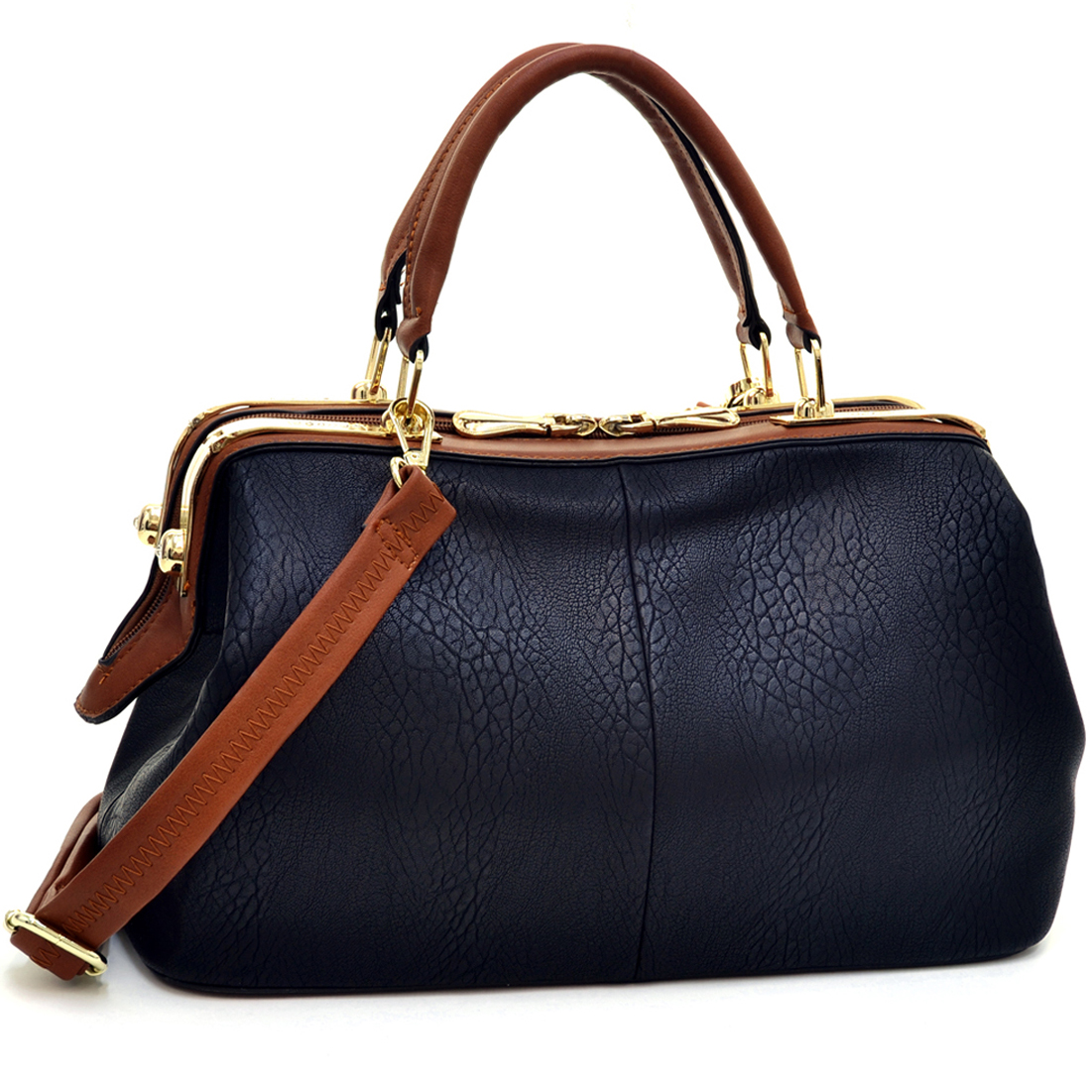 Isabelle® Two Tone Satchel