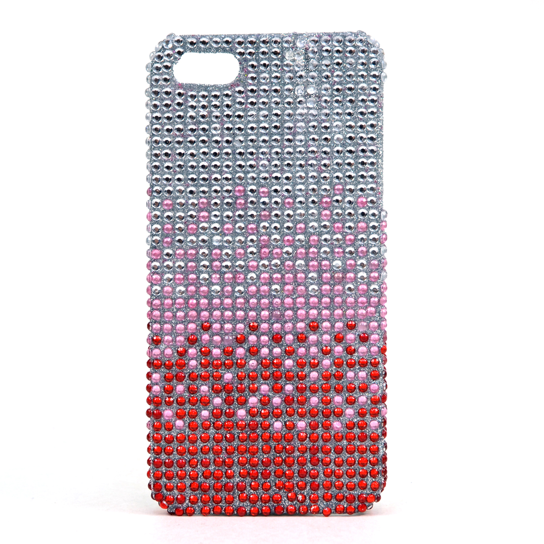 Dasein® Rhinestone Embellished Gradient Cell Phone Case for iPhone 4 and 4s