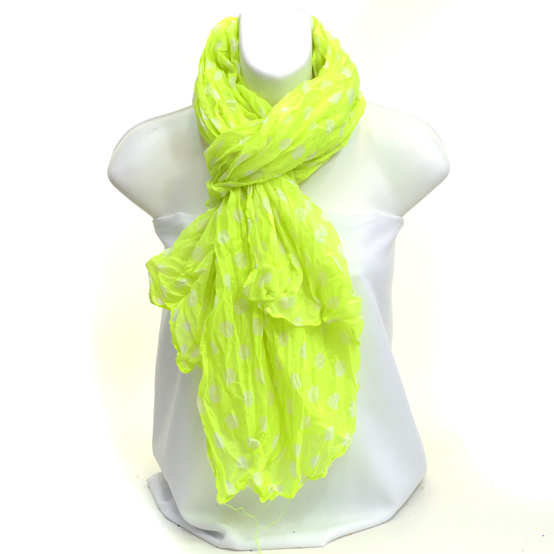 Sheer Free End - Fashion Scarf