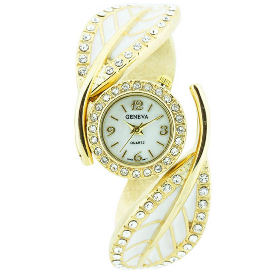 Fashion Leaf Bracelet Watch
