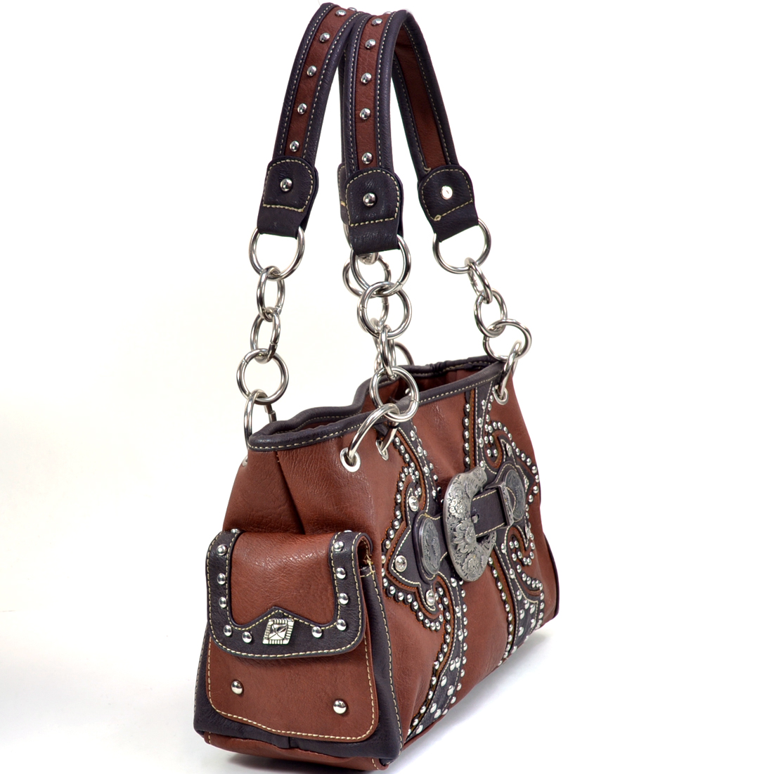 Montana West® Charm Shoulder Bag