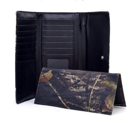 Dasein Studded XG Camouflage Checkbook Wallet with  Interior in Realtree camo