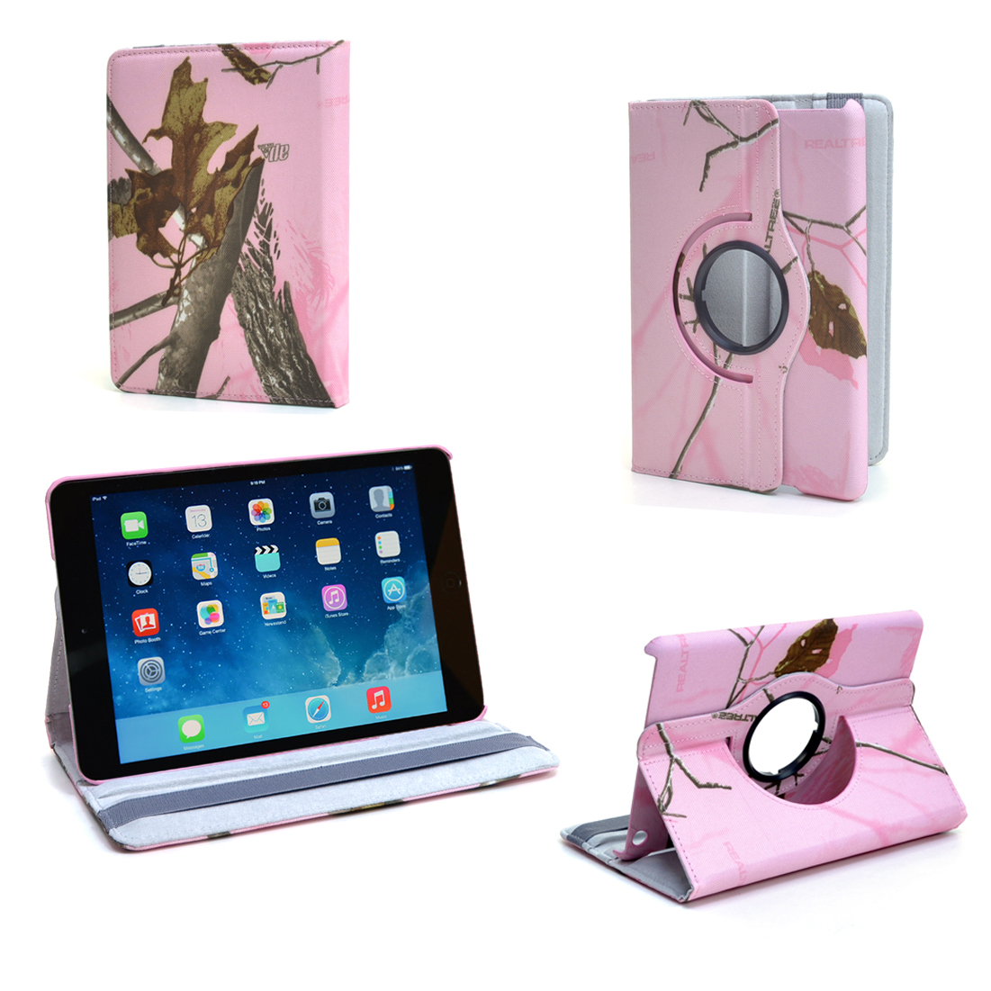 Realtree® Pink Camo iPad Mini 360 Rotation