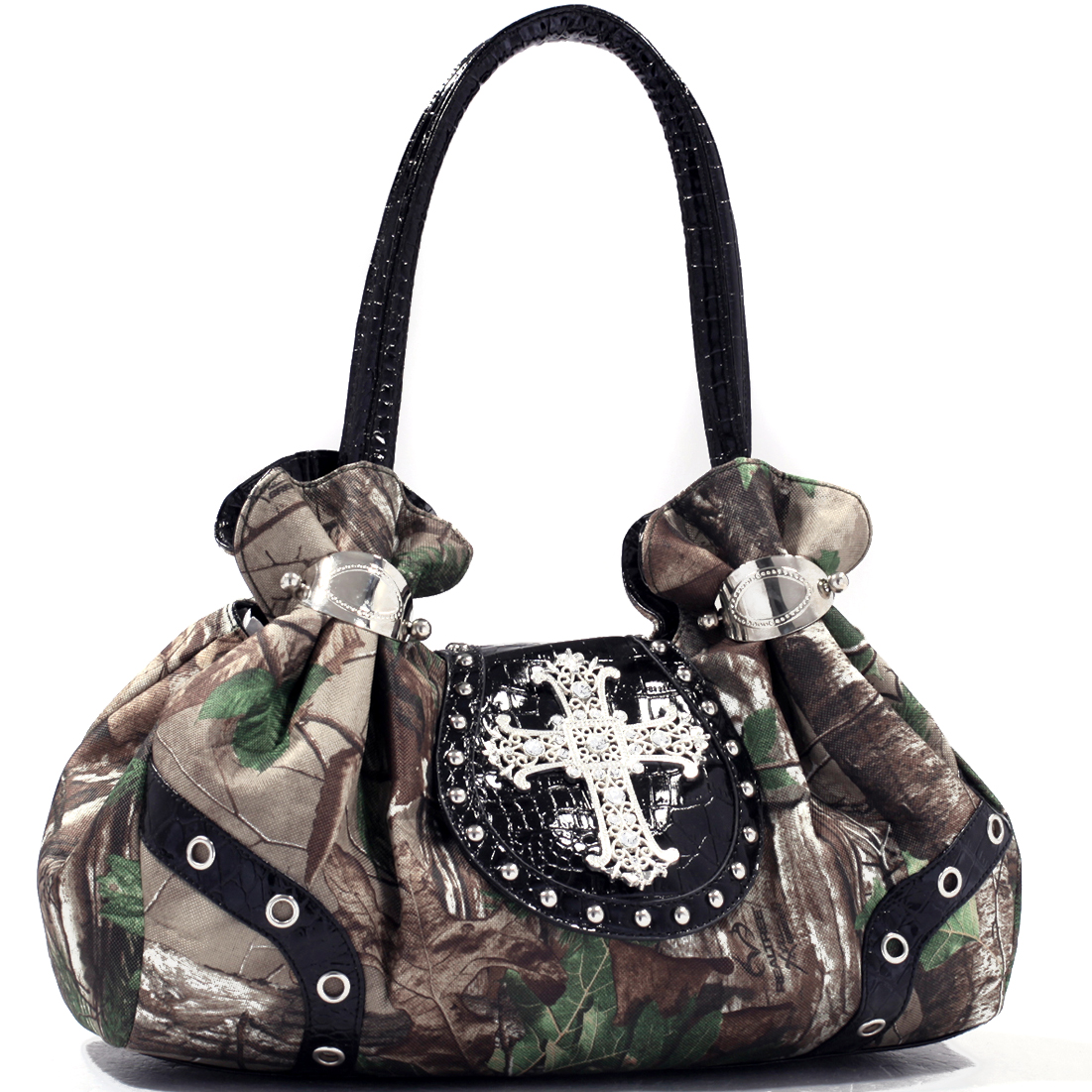 Realtree® Grace Gathered Satchel