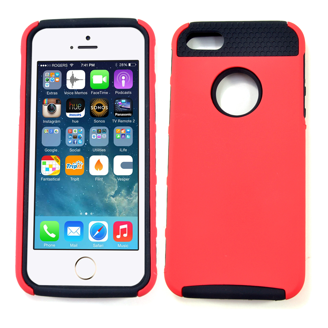 Dasein® No Slip Sport Phone Case For iPhone 5
