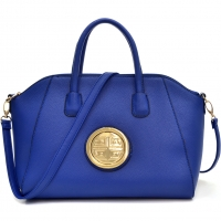 Dasein® Faux Buffalo Weekender Tote w/Removable Strap