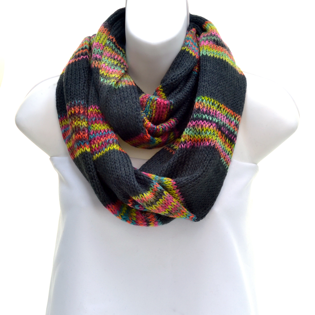 Classic Knit Infinity Scarf