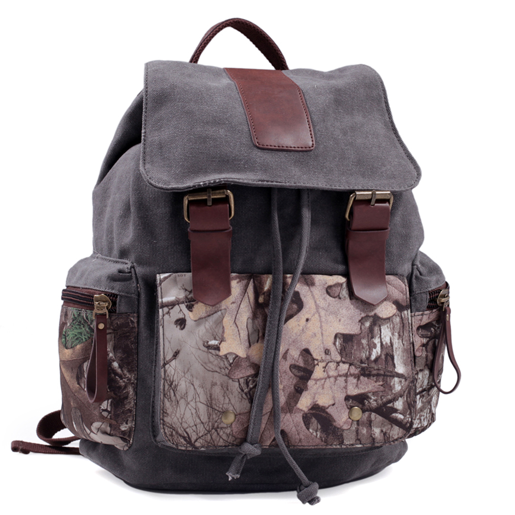 Realtree® Canvas Camo Backpack