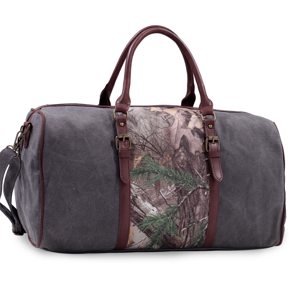Realtree® Canvas Camo Duffel w/Removable Shoulder Strap