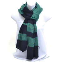 Two-Tone  Free End Fashion Scarf