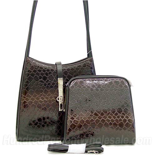 Dasein Esserpenti® 2-in-1 Flip Clasp Shoulder Bag