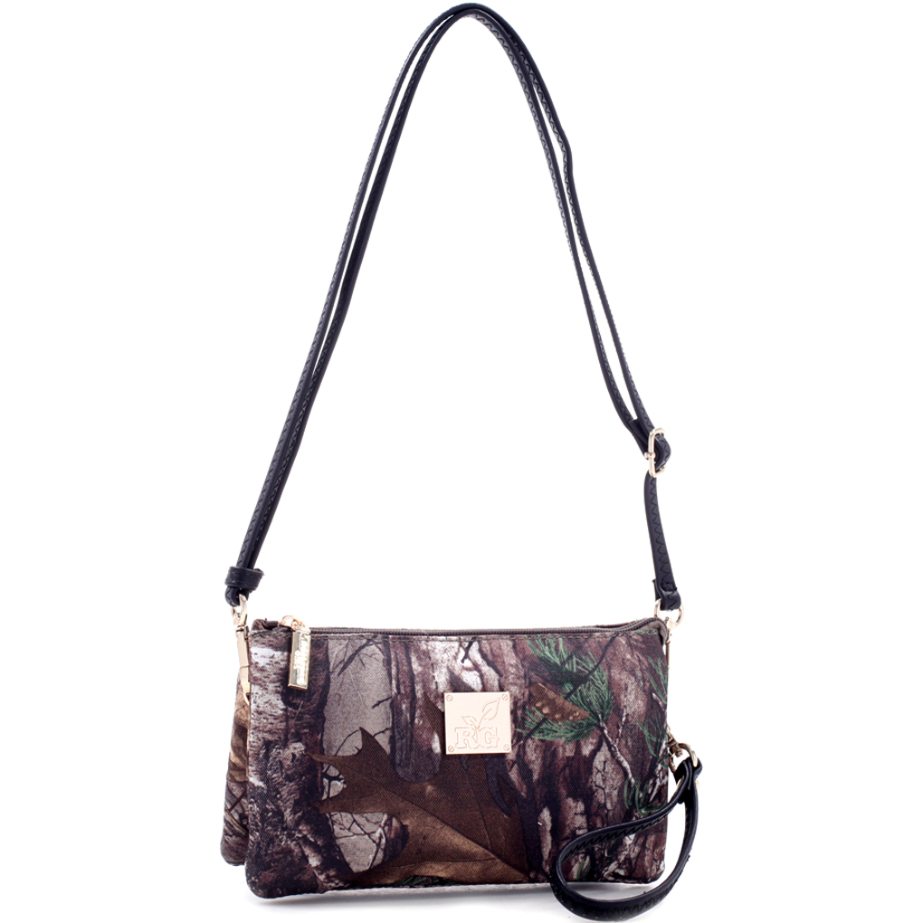 Realtree® Girl Multi-Compartment Crossbody Bag