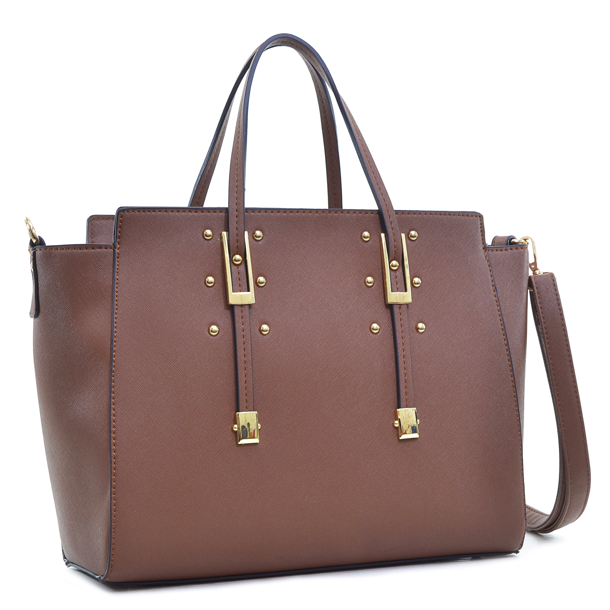 Dasein Elegant Buckle Strap Shoulder Bag, Tote, Handbag, Tablet Bag, iPad Bag