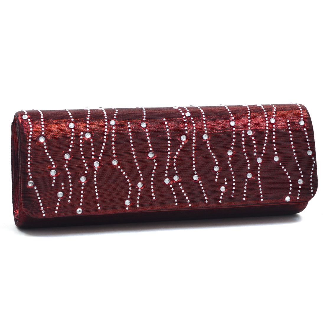 Dasein® Rhinestone Decor Evening Clutch