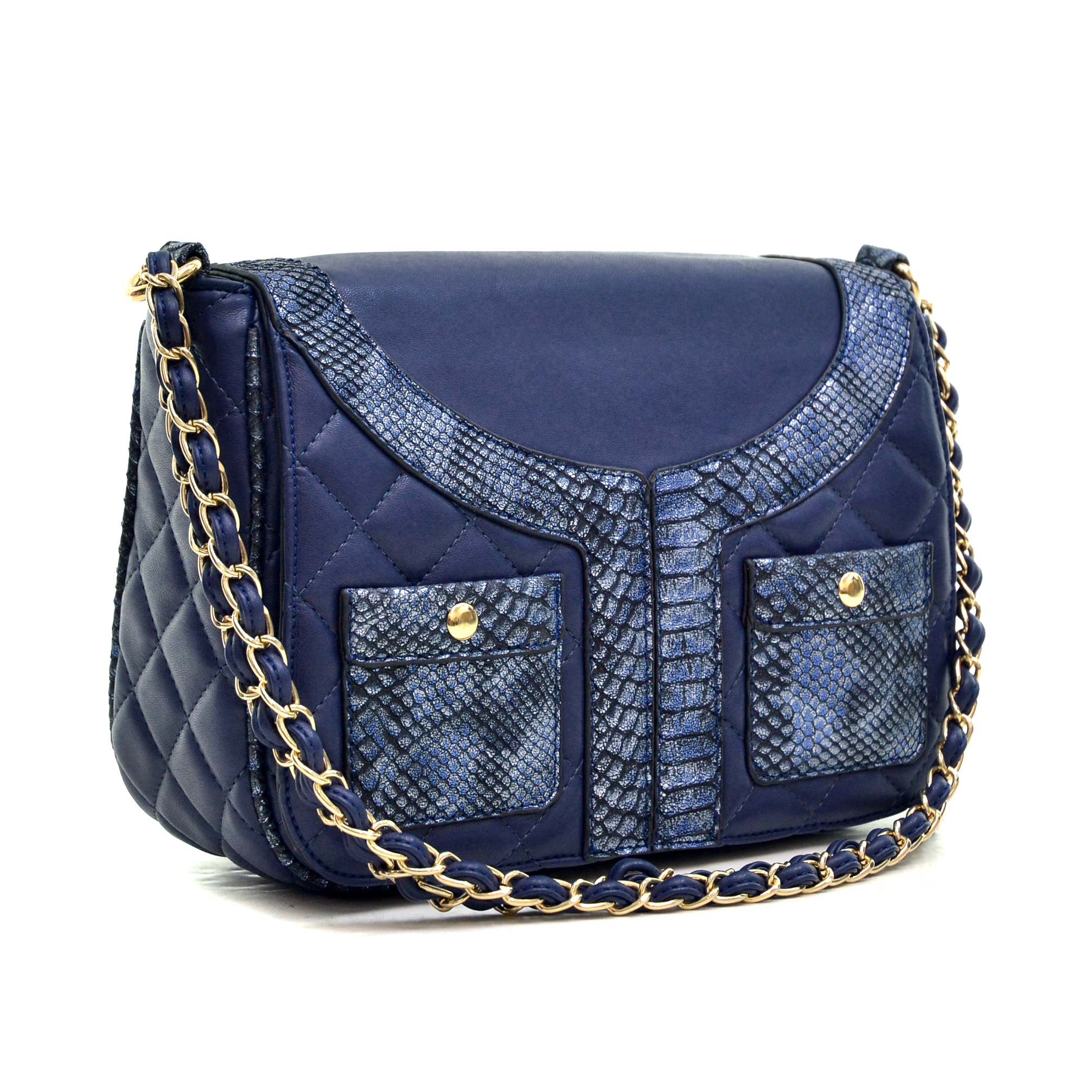 Dasein Quilted Jacket Effect Shoulder Bag
