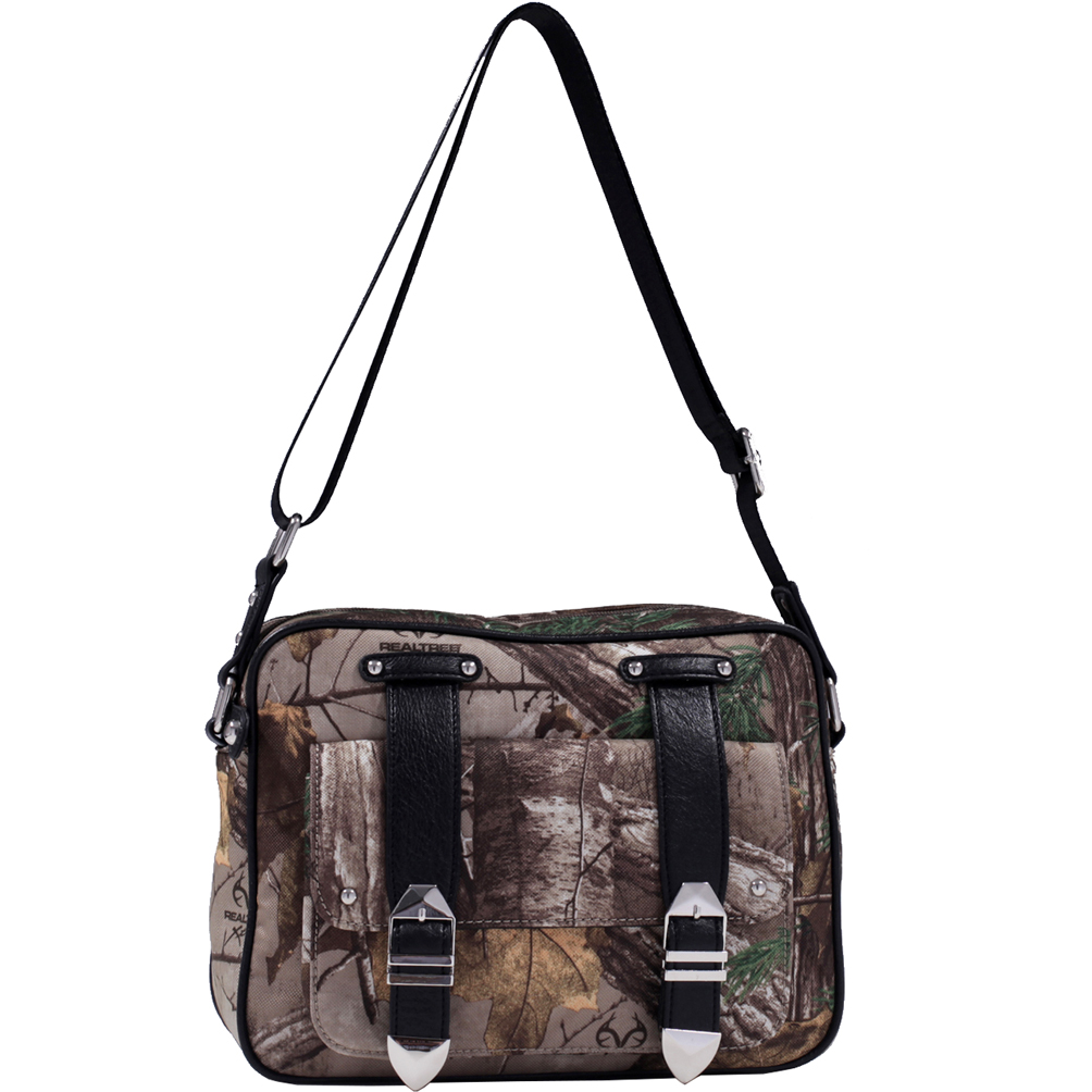 Realtree® Camouflage Concealed Carry Messenger Bag