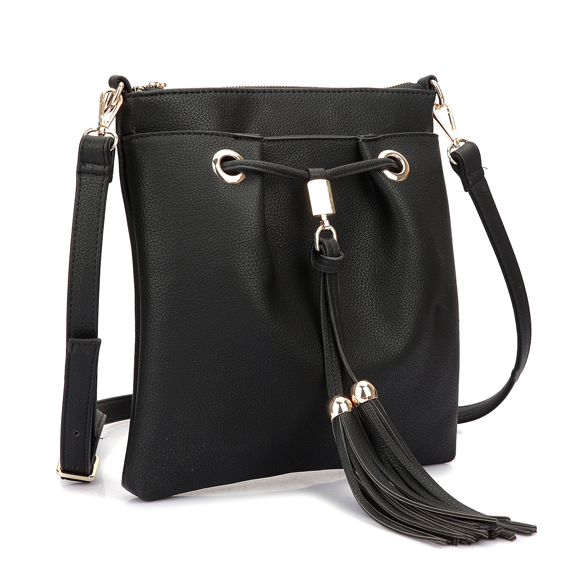 Crossbody bag with fringe details
