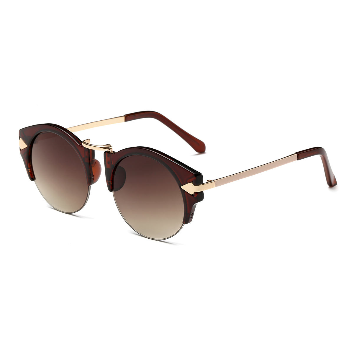 Metal Mirrored Sunglasses