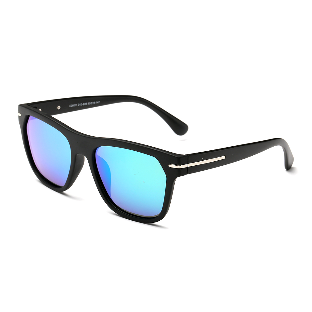 Polarized Square Mirrored Sunglasses