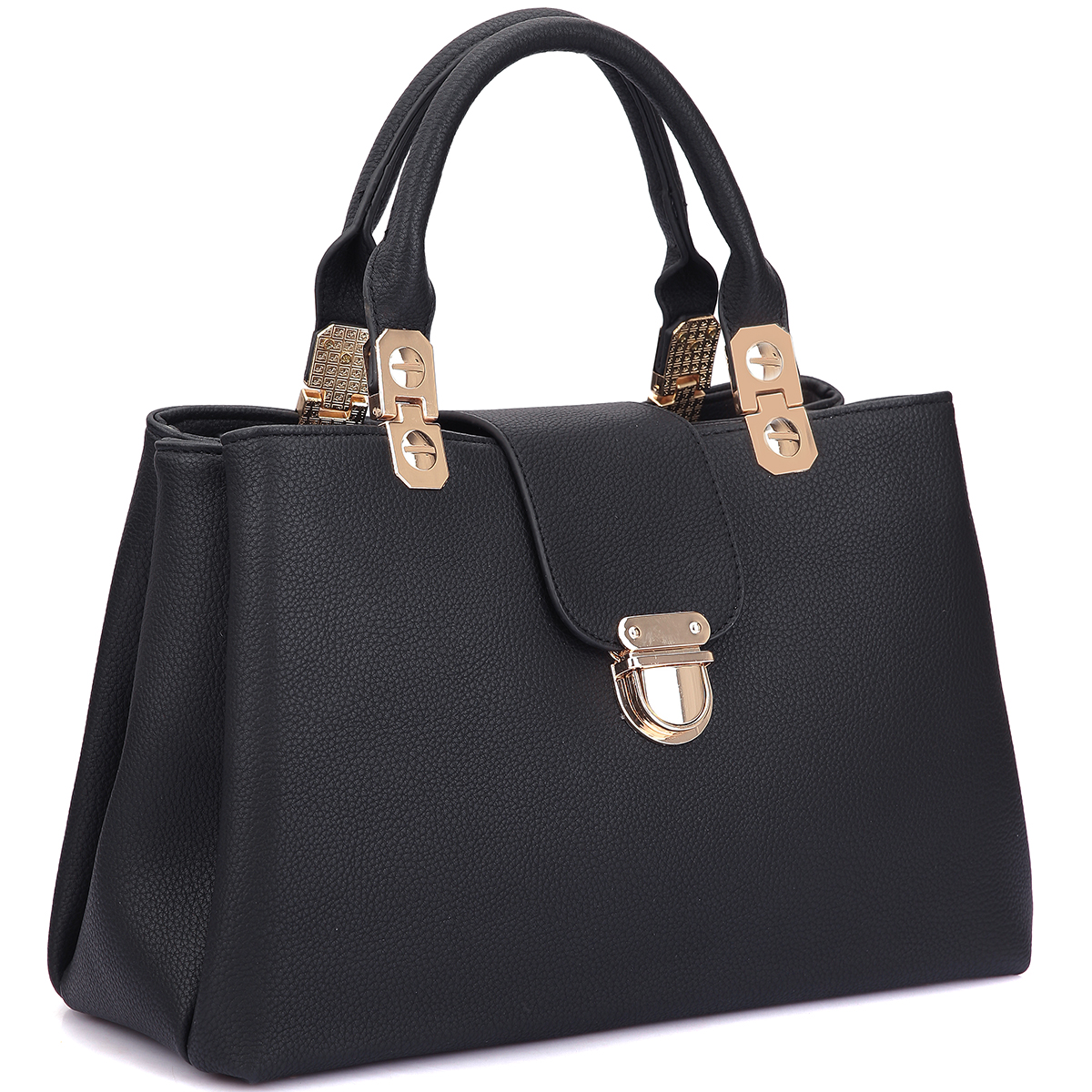 DaseinFashion Double Pocket Satchel