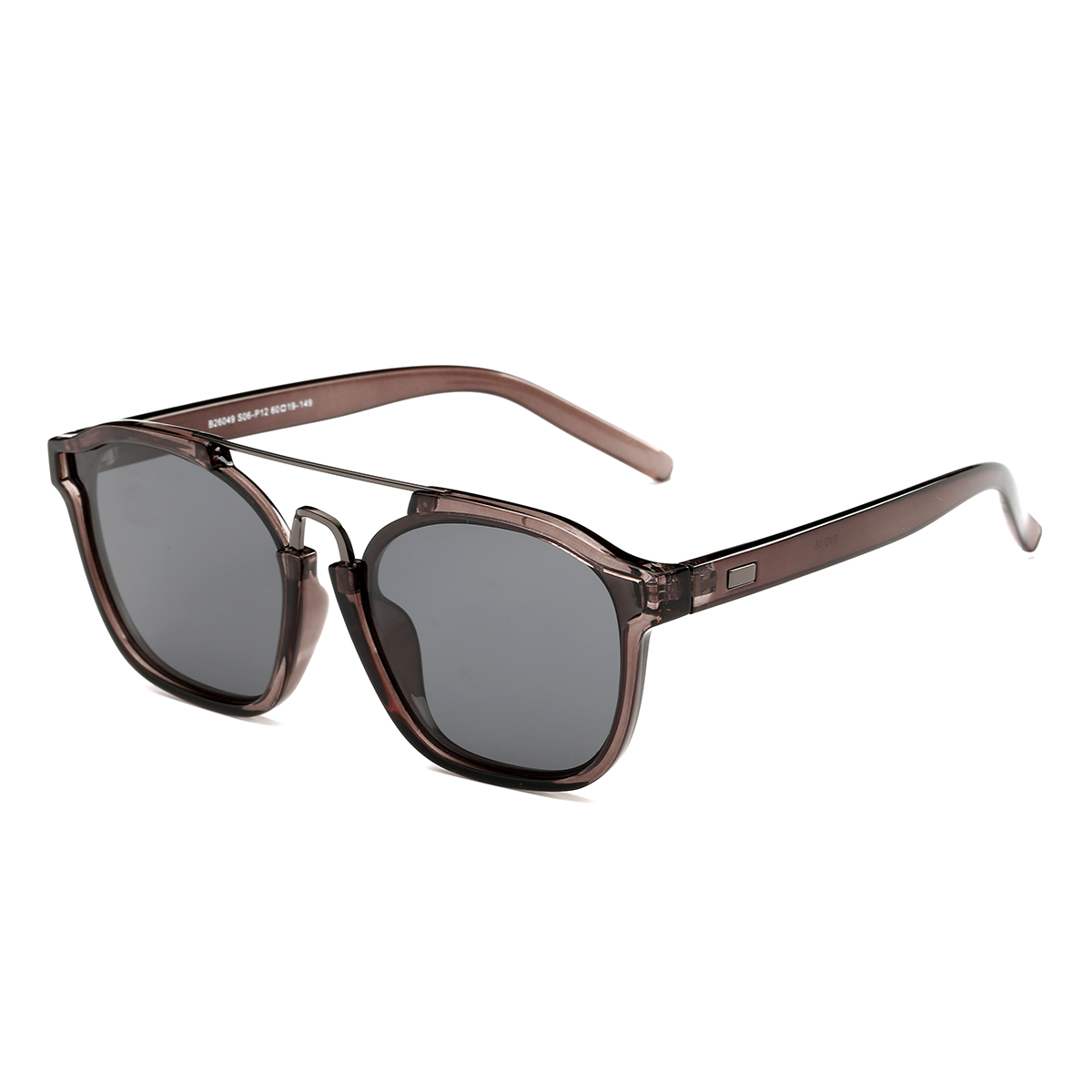 Dasein Retro Square Sunglasses