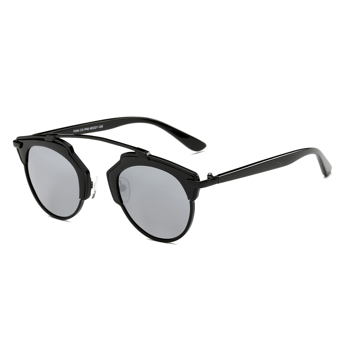 Dasein Retro Round Sunglasses